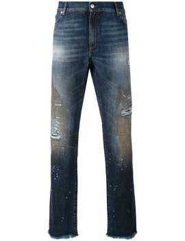 Distressed Slim Fit Jeans by 1017 Alyx 9 Sm