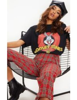 Black Looney Tunes T Shirt by Prettylittlething