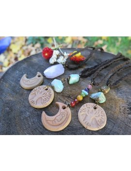 Essential Oil Diffuser For Car   Moon   Tree   Earthy Pink Or Rainbow   Vegan Suede   Braided   Vehicle Accessory by Etsy