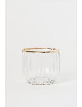 Textured Tea Light Holder by H&M