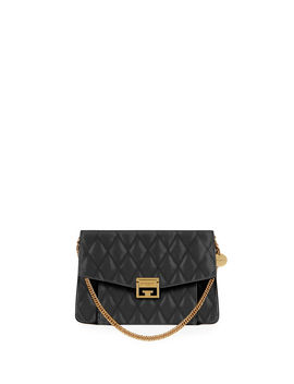 Gv3 Medium Losange Quilted Leather Shoulder Bag by Givenchy