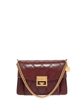 Gv3 Small Quilted Leather Crossbody Bag by Givenchy