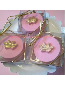 12 Ct Princess Oreo Favors.  Baby Shower Wedding, Birthday Favors, Candy Buffet. Pink And Gold Theme. by Etsy