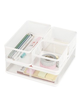 Mesh Drawer Organizer White   Made By Design™ by Made By Design