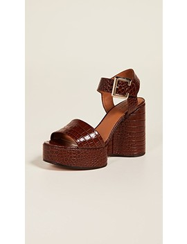 Altesse Wedge Sandals by Robert Clergerie