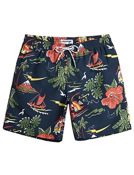 Maa Mgic Mens Short Swim Trunks Boys Quick Dry Beach Broad Shorts Swim Suit With Mesh Lining by Maa Mgic