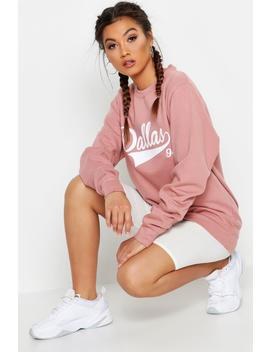 Fit Dallas Slogan Sweatshirt by Boohoo