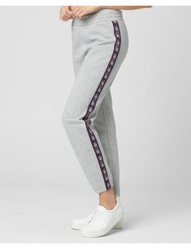 Fleece Juicy Tape Track Pant by Juicy Couture