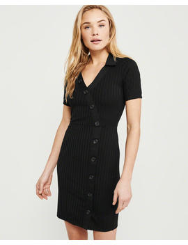 Polo Knit Dress by Abercrombie & Fitch