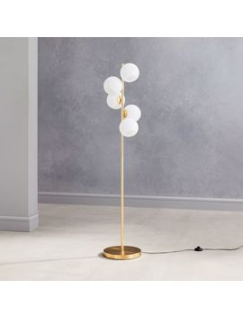 Staggered Glass Floor Lamp   5 Light by West Elm