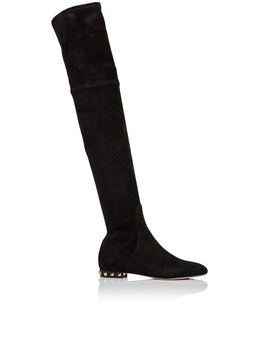 Over The Knee Flat Boot by Valentino