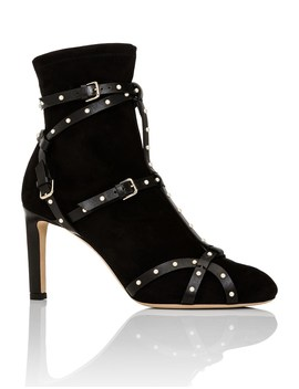 Brianna 85 Bootie With Pearls by Jimmy Choo