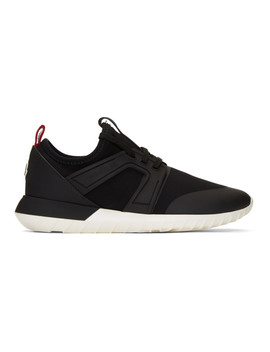 Black Meline Sneakers by Moncler