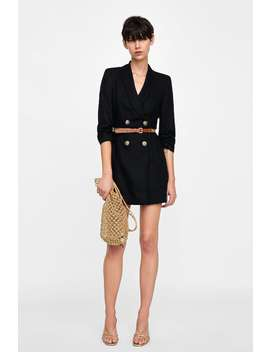 Belted Blazer Dress  View All Dresses by Zara