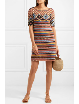 Crocheted Cotton Mini Dress by See By Chloé