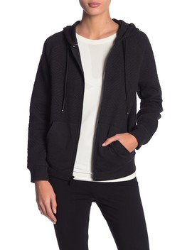 Puff Knit Zip Up Jacket by Marc New York By Andrew Marc