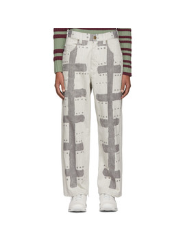 Grey A Poc Inside Jeans by Homme PlissÉ Issey Miyake