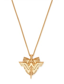 Wonder Woman Shield Pendant Necklace by Alex And Ani