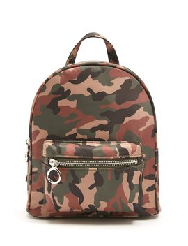 Camo Print Backpack by Forever 21