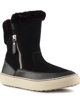 Dresden Waterproof Sneaker Boot With Faux Fur Trim by Cougar