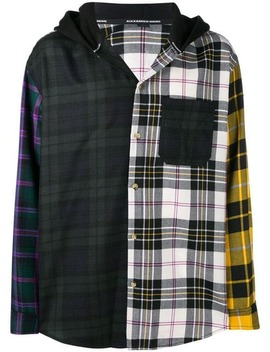 Patchwork Shirt Jacket by Alexander Wang