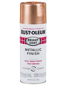 Rust Oleum 314417 6 Pk Bright Coat Metallic (6 Pack) Spray Paint, Copper by Rust Oleum