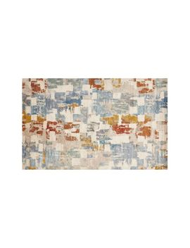 Vasari Multi Abstract Rug 5'x8' by Crate&Barrel