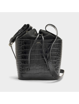 Clara Bag In Black Calfskin by A.P.C.