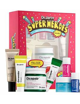 Dr. Jart+ Superheroes Skin Transformers: Tiger Grass Color Correcting, Re.Pair Serum, Water Fuse Hydro Sleep Mask, Ceramidin, Beauty Balm, Peptidin Radiance Serum Firming Serum by Dr. Jart