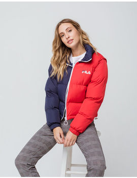 Fila Martina Womens Crop Puffer Jacket by Fila