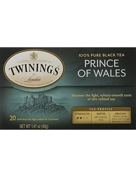 Twinings Of London Prince Of Wales Tea Bags, 20 Count by Twinings