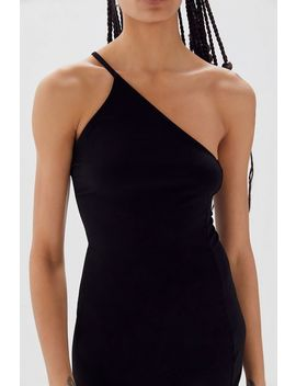 Uo One Shoulder Bodycon Mini Dress by Urban Outfitters