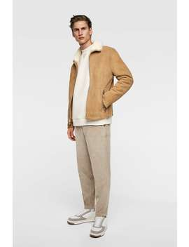 Corduroy Trousers  View All Knitwear Man Sale by Zara