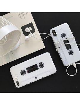 Aion   Cassette Tape Print Phone Case   I Phone6 / 6 S / 6 Plus / 7 / 7 Plus / 8 / 8 Plus / X by Aion