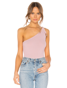 Lainey One Shoulder Top by Superdown