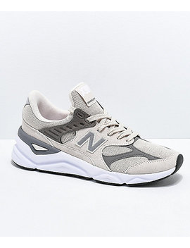 New Balance Lifestyle X90 Reconstruct Moonbeam & Rock Shoes by New Balance