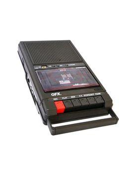 Qfx Retro Cassette Cinta Grabadora   39 Caja De Zapatos + Xxx/Usb + Micrófono Incorporado by Ebay Seller