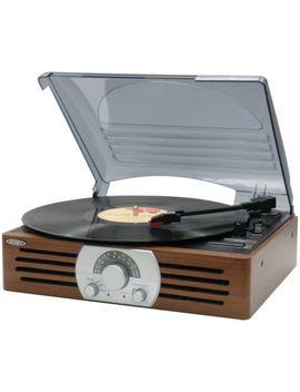 Vintage Tocadiscos Giradiscos Jensen 3 Velocidad 33/45/78 Rpm Am/Fm Radio Altavoces by Ebay Seller