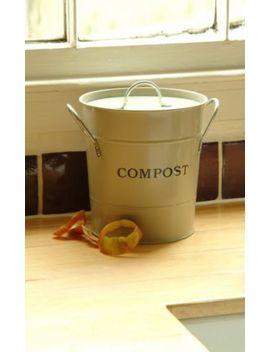 Garden Trading Arcilla Cocina Compost Cubo Compost Cubo Ideal Para Encimera by Ebay Seller