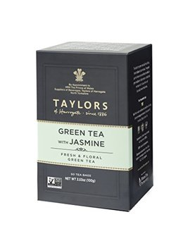 Taylors Of Harrogate Green Tea With Jasmine, 50 Teabags by Taylors Of Harrogate
