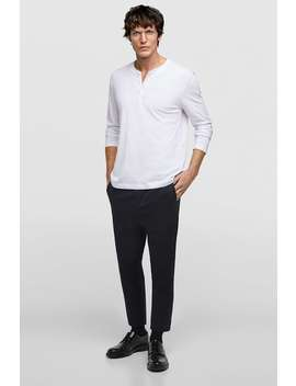 Basic Regular Fit Shirt  Natural Fibers Our Products Join Life by Zara