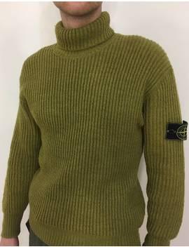 Rare Archive 🔥1987' Wool Turtleneck by Stone Island × Massimo Osti