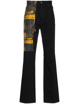 Calvin Klein X Andy Warhol Car Crash Print Jeans by Calvin Klein 205 W39 Nyc