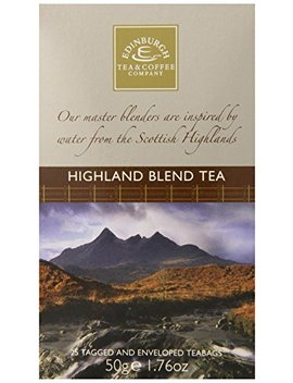 Edinburgh Tea & Coffee Company Highland Blend Tea, 25 Count Teabags by Edinburgh Tea & Coffee Company