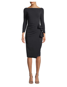 Zelma Ruched Body Con Dress by Chiara Boni La Petite Robe