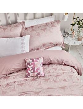 Helena Springfield   Cerise Cotton And Polyester 'posy' Duvet Cover by Helena Springfield