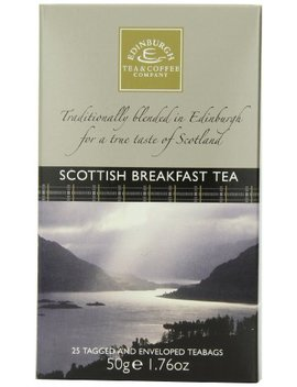 Edinburgh Tea & Coffee Company Scottish Breakfast Tea   25 Count (Envelope/Tagged), 1.76 Ounce by Edinburgh Tea & Coffee Company