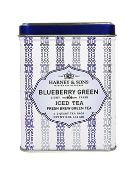 Harney Sons Blueberry Green Iced Tea 6 2 Quart Tea Bags 3 Oz 0 11 G by Harney & Sons