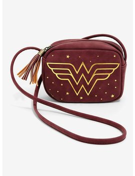 Dc Comics Wonder Woman Camera Crossbody Bag by Hot Topic