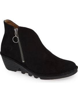 Poro Wedge Bootie by Fly London